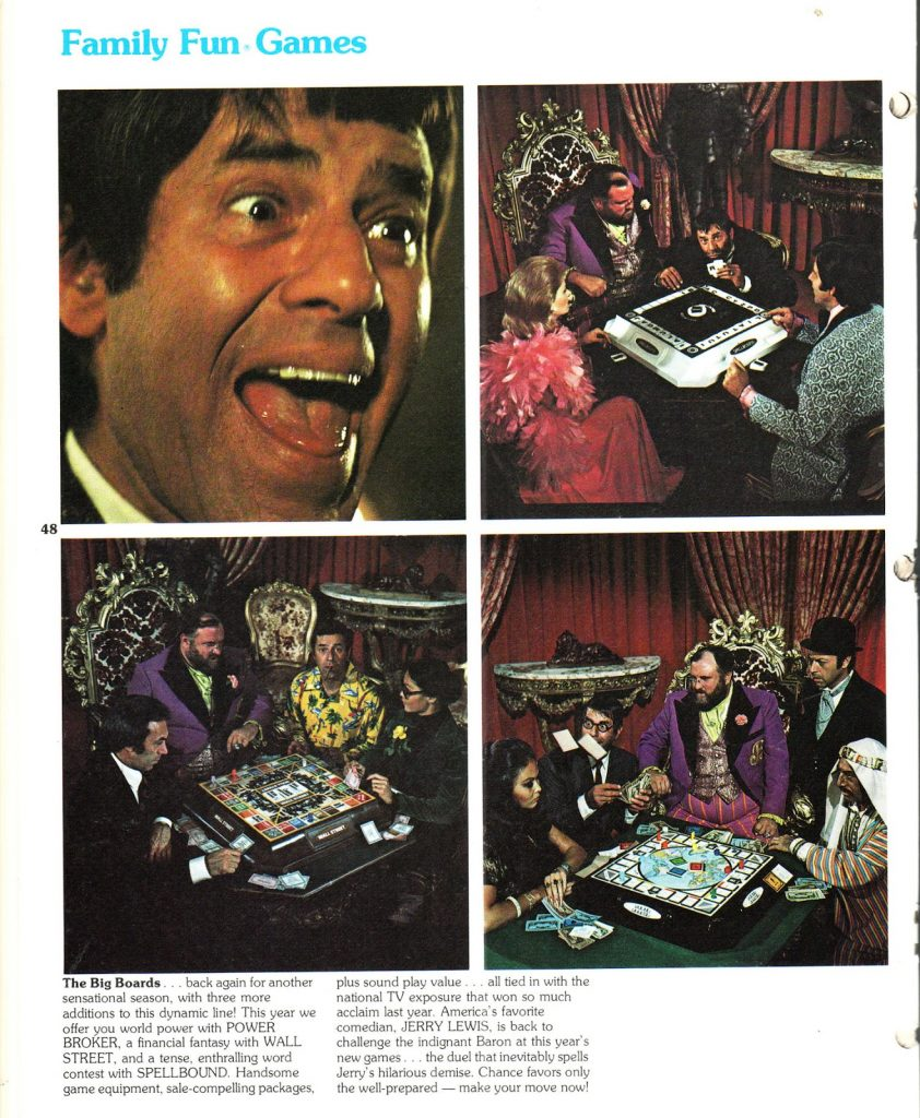 Jerry Lewis for Hasbro games – PS