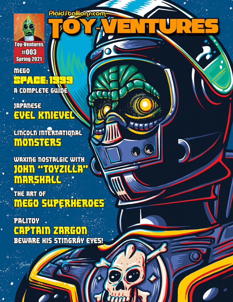 Toy-Ventures Magazine Issue 3- Lincoln Monsters