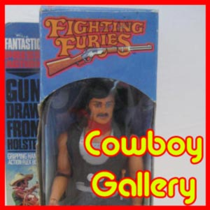 Matchbox Fighting Furies Action Figures