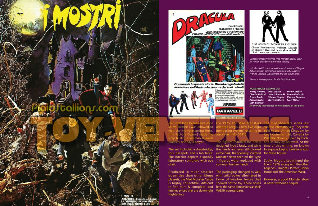 Mego Mad Monsters