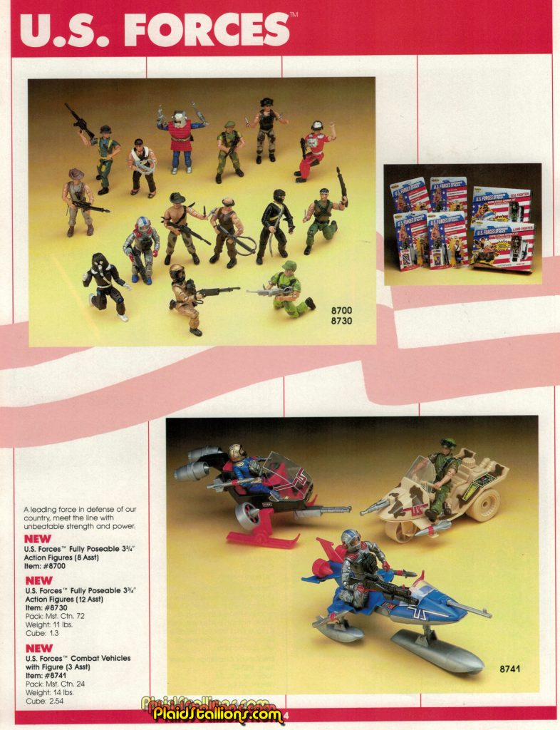 1987 Remco Toys Catalog U.S. Forces