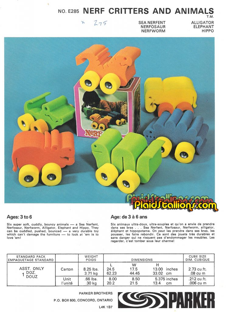 Nerf Critters