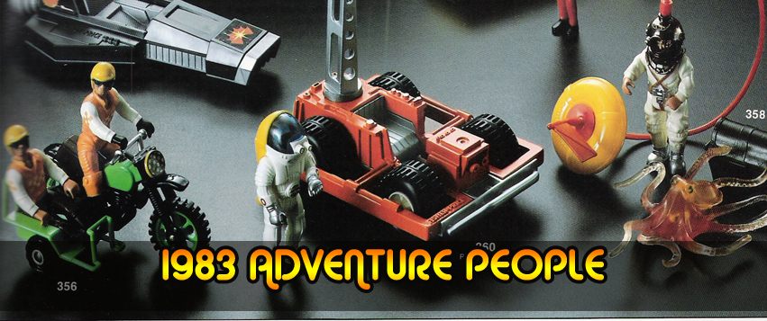 Fisher Price Adventure People From 1983
