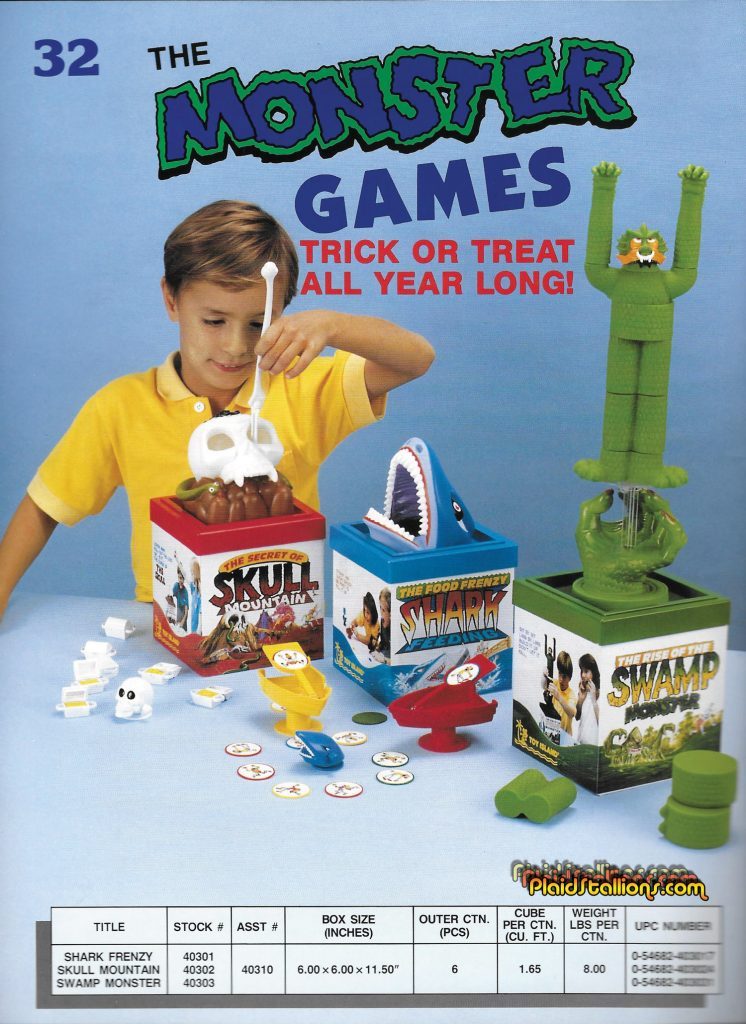 Toy Island Monster Games