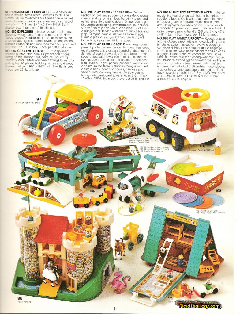 1975 Fisher-Price Catalog Little People
