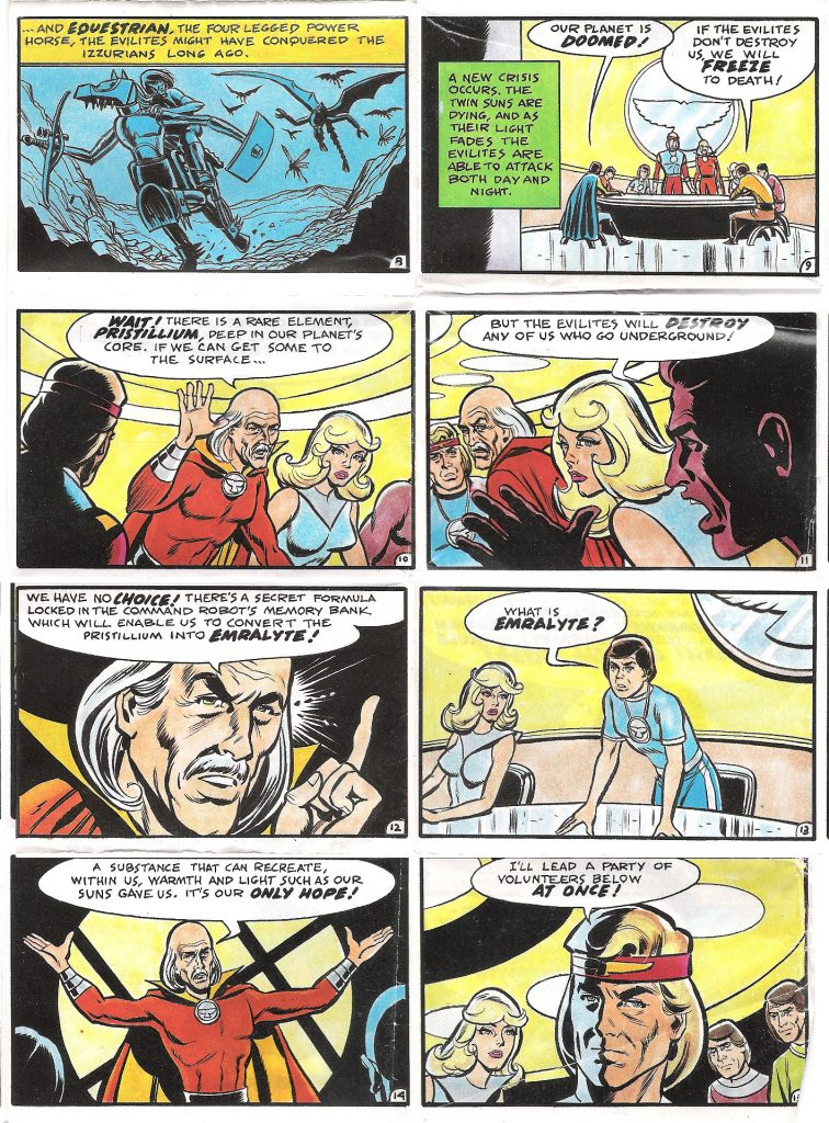 Pac Toys Lords of Light Promo Comic