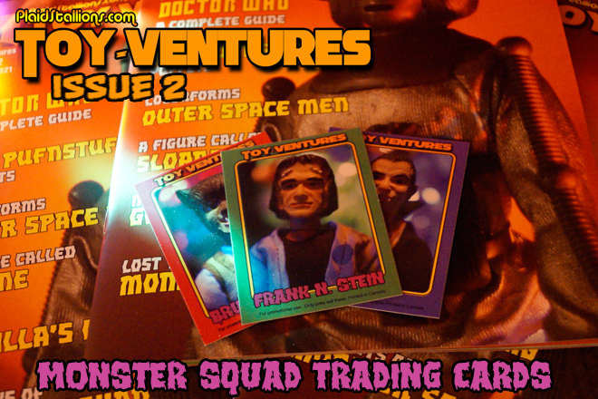 Toy-Ventures Magazine Issue 2 trading cards