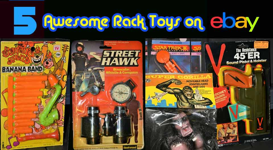 5 Awesome Rack Toys on eBay this week