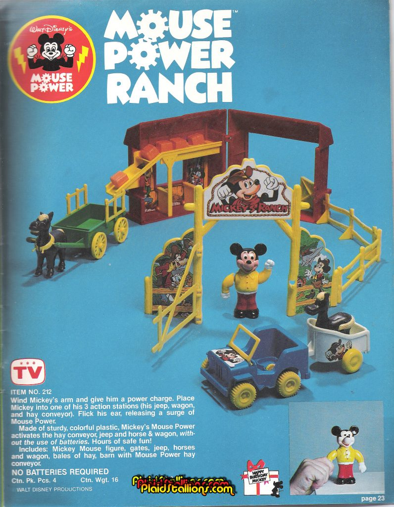 Remco Mickey Mouse Power Ranch