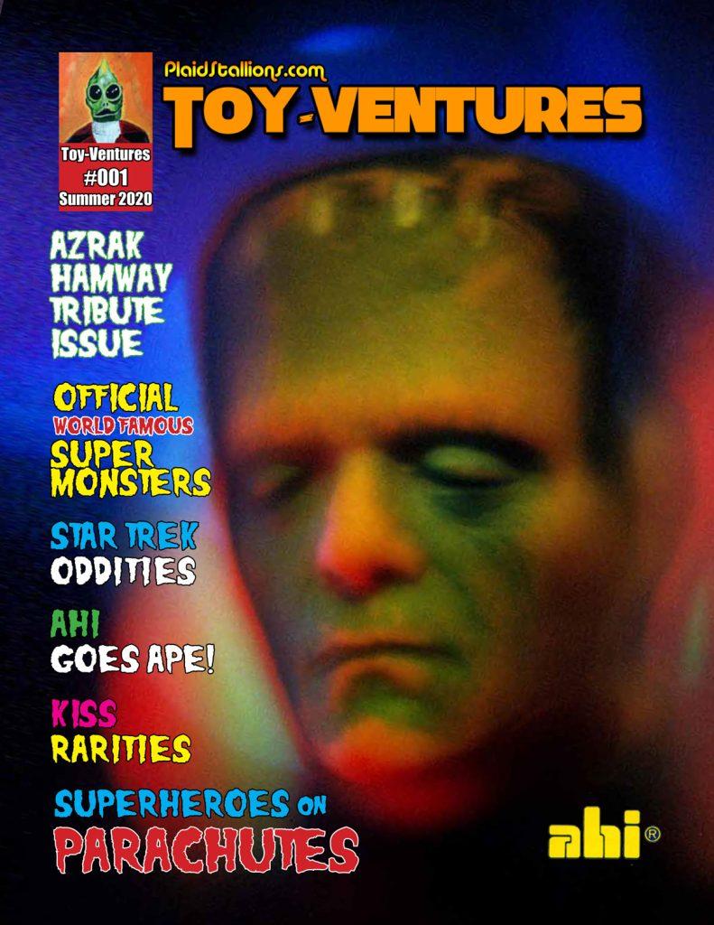Toy-Ventures Magazine Issue 1- AHI tribute