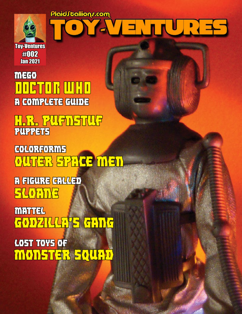 Toy-Ventures Magazine Issue 2- Mego Doctor Who