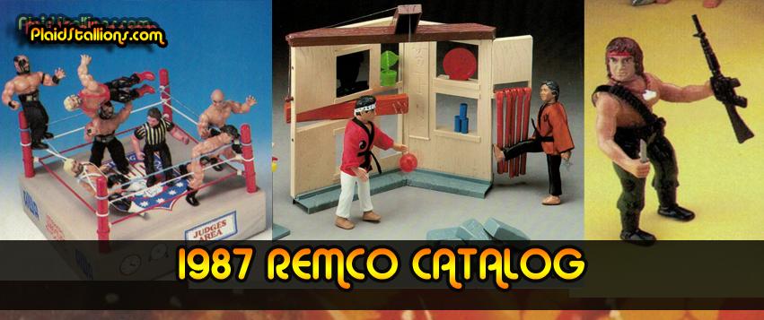 1987 Remco Toys Catalog Header