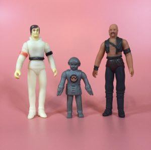 Croner Buck Rogers, Tiger man and Twiki