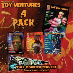 Toy-Ventures magazine bundle