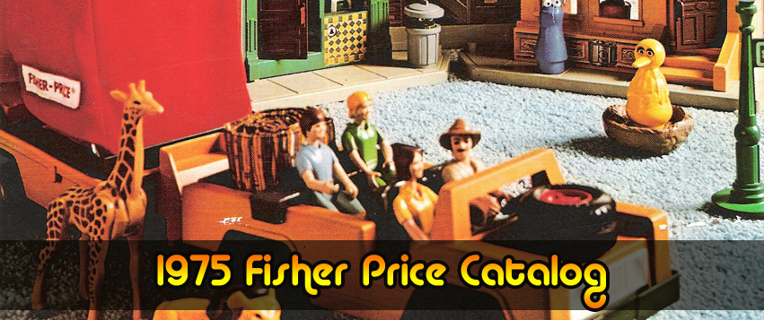 1975 Fisher-Price Catalog with Adventure People