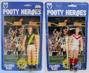 Footy Heroes by Croner Toys of Australia
