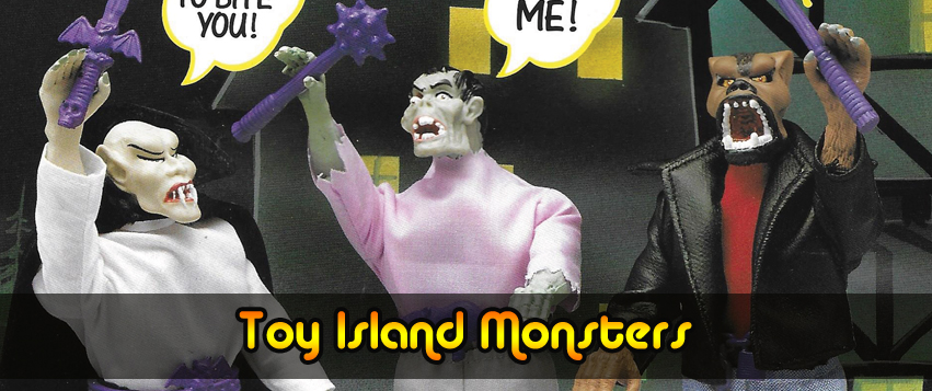 Toy Island Monsters Action Figures