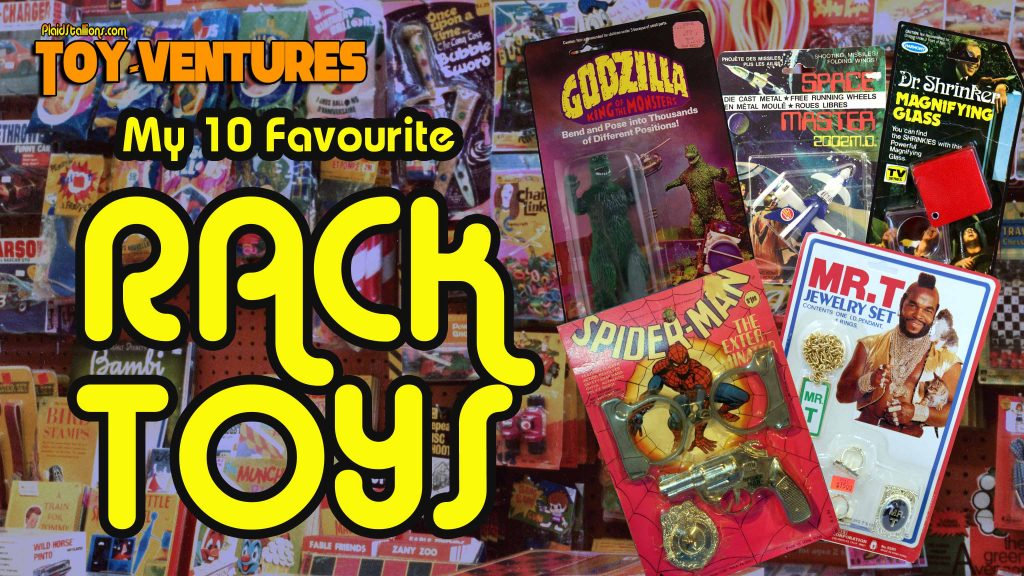 Toy-Ventures: My 10 Favourite Rack Toys