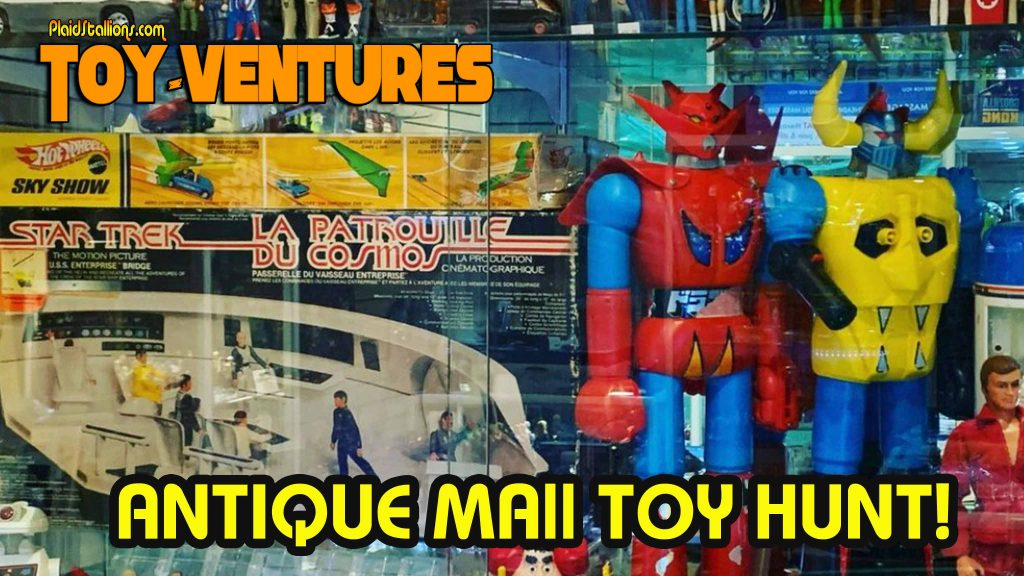 Toy-Ventures: ANTIQUE MALL TOY HUNT