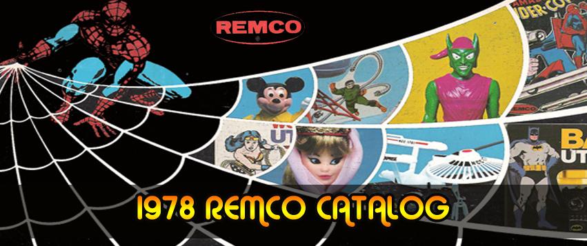 1978 Remco Toys Catalog